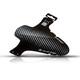 "rie:sel design schlamm:PE Front Mudguard 26-29"" carbon"